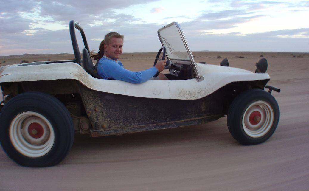 eric in buggy